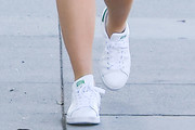 Busy Philipps Leather Sneakers
