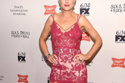 Elaine Hendrix Lace Dress