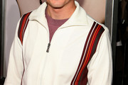 Frankie Muniz Half-Zip Sweater
