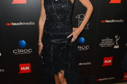 Arianne Zucker Fishtail Dress