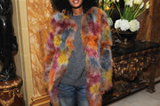 Julia Sarr Jamois Fur Coat