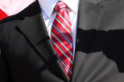 Albert Pujols Striped Tie