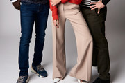 Jena Malone Wide Leg Pants