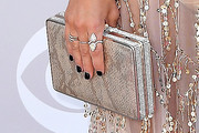 Jessie James Decker Metallic Clutch