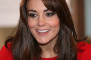 Kate Middleton Long Straight Cut with Bangs