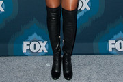 Taraji P. Henson Over the Knee Boots