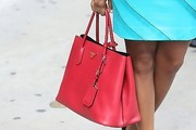 Gabrielle Union Leather Tote