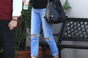 Emily VanCamp Ripped Jeans