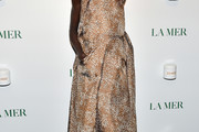 Alek Wek Halter Dress