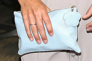 Pippa Middleton Leather Clutch
