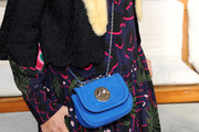 Yasmin Le Bon Suede Shoulder Bag