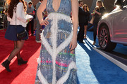 Elizabeth Henstridge Print Dress