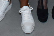 Tracee Ellis Ross Leather Sneakers