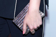 Hilary Duff Box Clutch