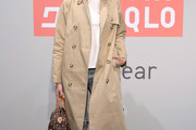 Ashley Madekwe Trenchcoat