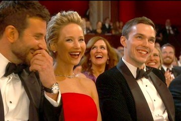 Bradley Cooper Jennifer Lawrence 86th Annual Academy Awards — Part 12