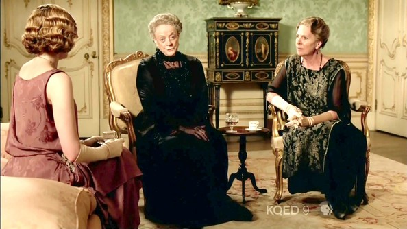 Maggie Smith and Penelope Wilton Photos Photos - Downton ...
