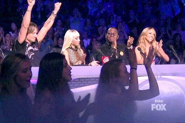 Mariah Carey Nicki Minaj American Idol Season 12 Episode 30
