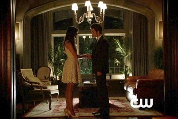 Paul Wesley Nina Dobrev The Vampire Diaries Season 4 Episode 23