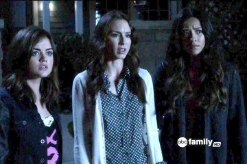 Lucy Hale Shay Mitchell Pretty Little Liars Season 3 Episode 5